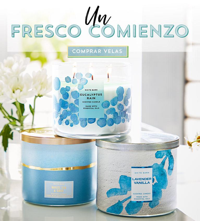 Un Fresco Comienzo - Comprar Velas | Bath and Body Works Chile