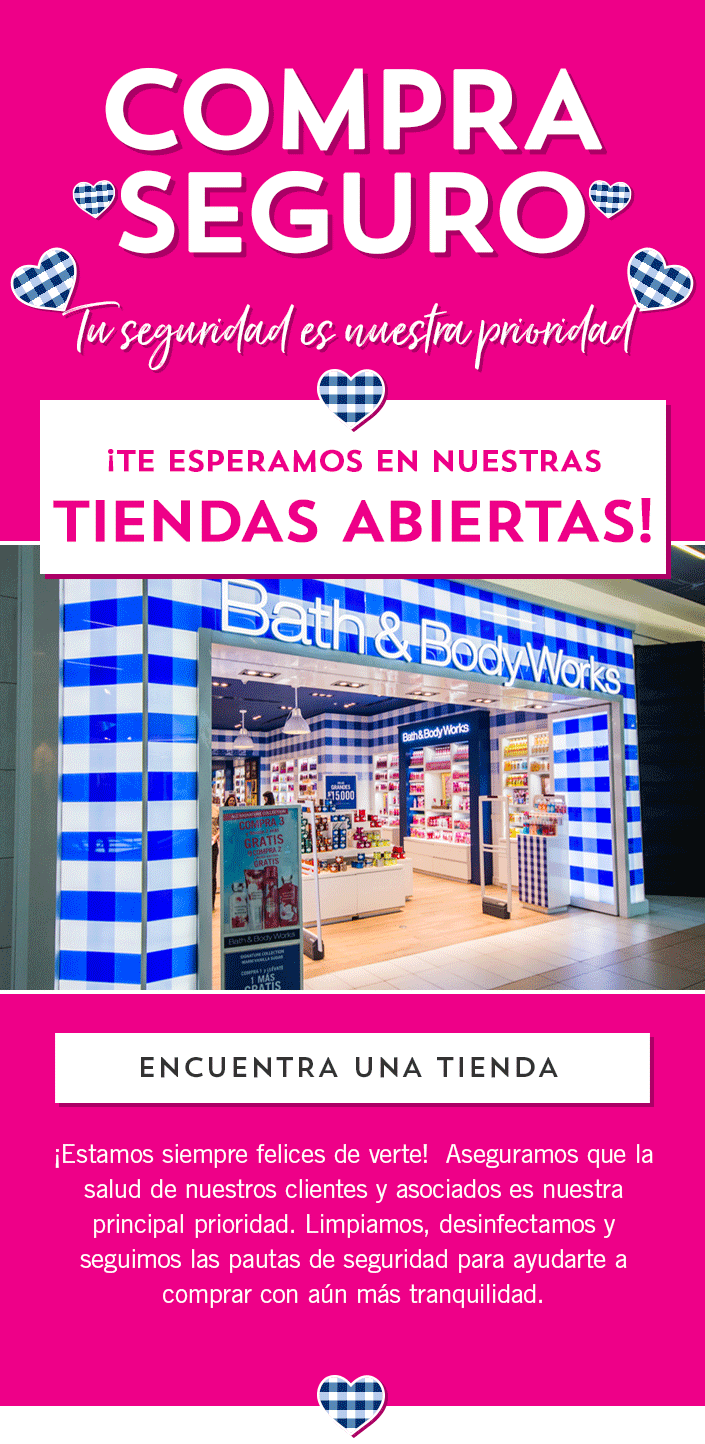 Compra Segura 1 | Bath and body works Chile