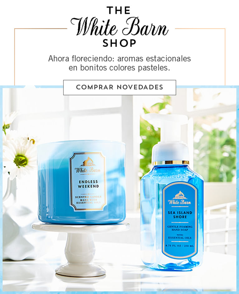 The White Barn shop | Bath and Body Works