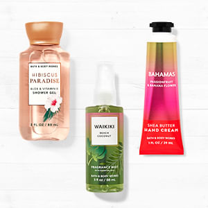 Promoción Travel Size 3x2 o 5x3   Bath and Body Works Chile
