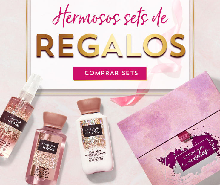 Hermosos set de regalos | Bath and Body Works Chile